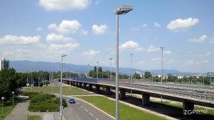 nadvožnjak utrina, most mladosti zagreb - lipanj 2012.