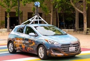 google street view car / 2021.