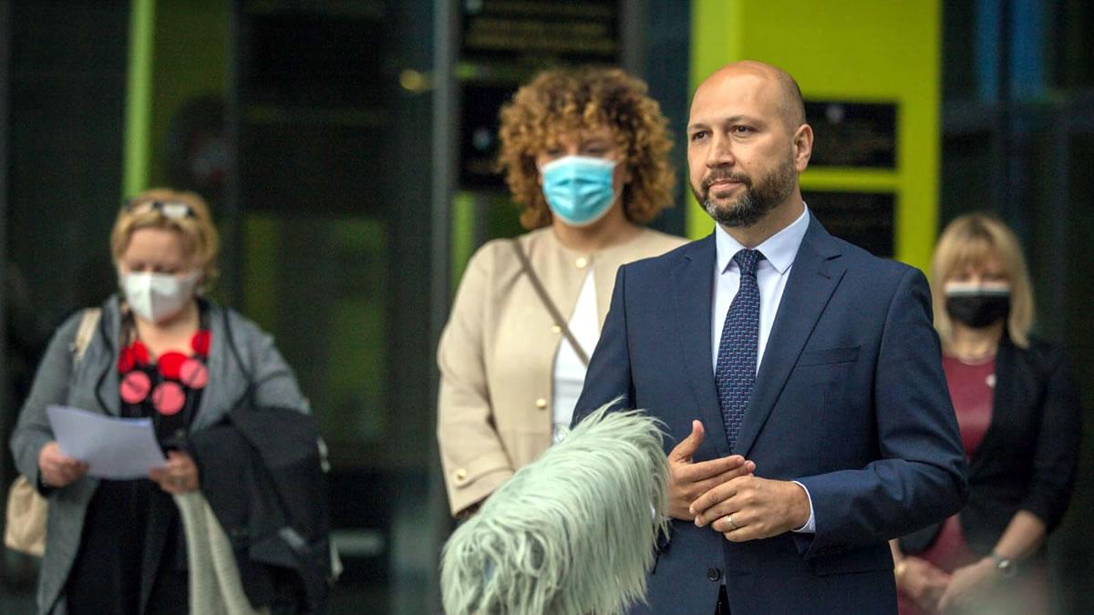 mihael zmajlović i mirela katalenac - sdp zagrebačka županija - lokalni izbori 2021.