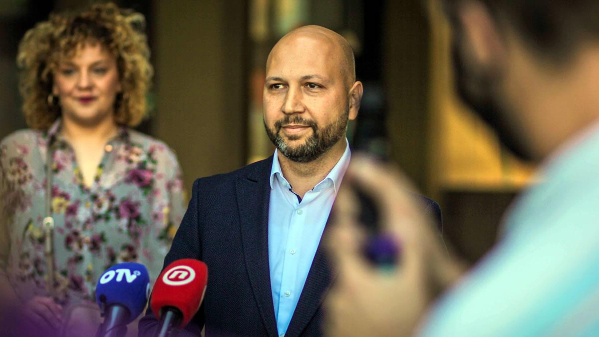 mihael zmajlović / mirela katalenac / lokalni izbori 2021 / sdp zagrebačka županija