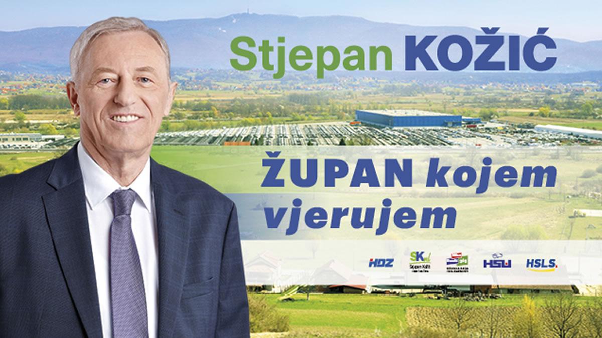 stjepan kožić / župan kojem vjerujem / zagrebačka županija - lokalni izbori 2021.