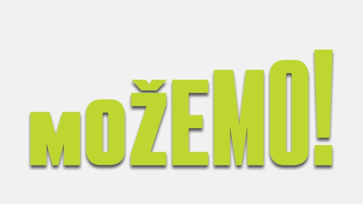 stranka možemo! zagreb / logo 2021.