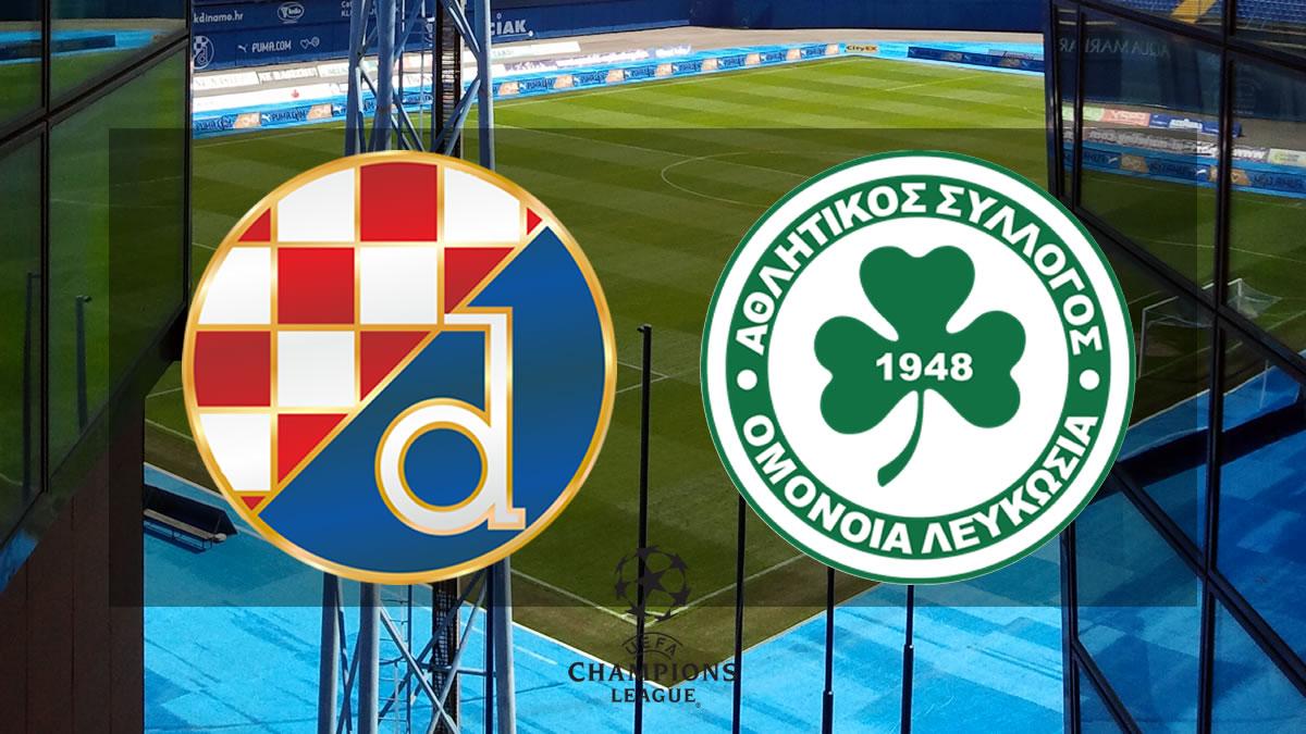 dinamo zagreb - omonia nicosia / uefa champions league 2021./2022.