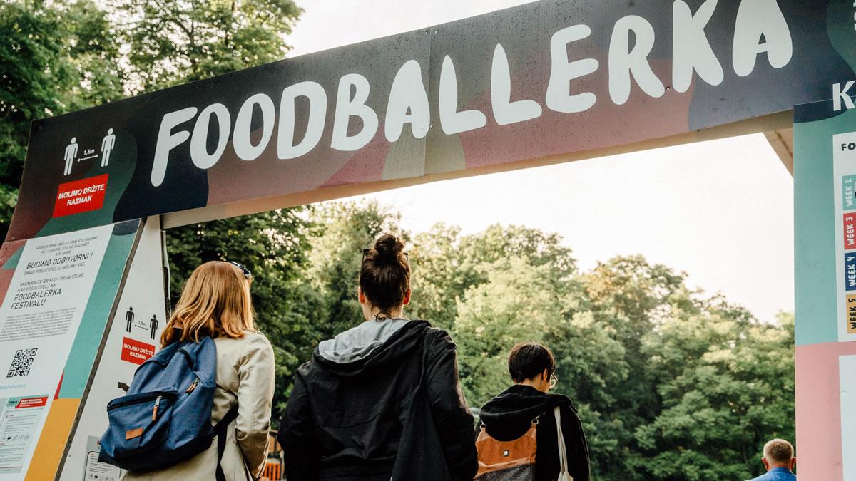 foodballerka 2021 - ulazni portal / tuškanac, zagreb