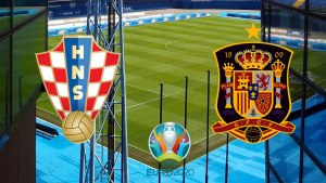 hrvatska - španjolska / euro 2020 / croatia - spain