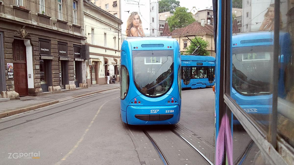 zet tramvaj br. 11 / draškovićeva ulica, zagreb / lipanj 2012.