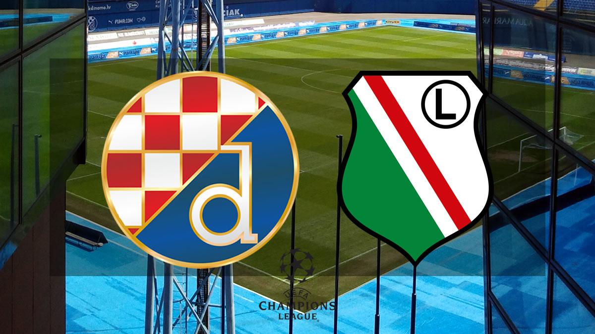 dinamo zagreb - legija varšava - uefa champions league 2021-2022