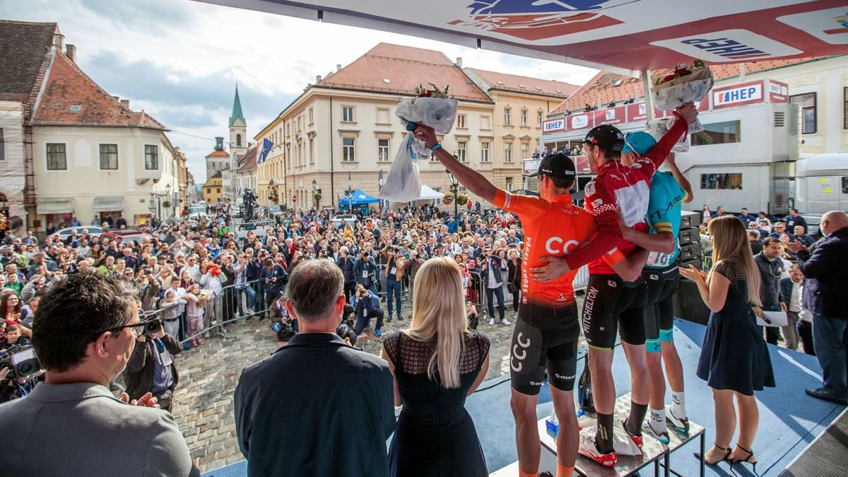 cro race 2019 / proglašenje pobjednika / markov trg, zagreb / foto: kl photo