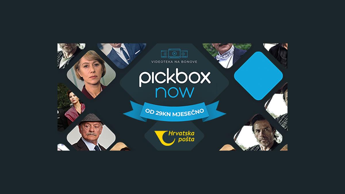 pickbox now - hrvatska pošta - videoteka na bonove - 2021.