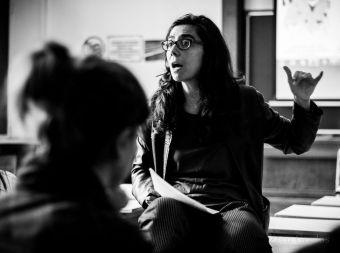 María Angulo, directora de la revista Zero Grados. /Foto: Jacobo Yáshyn