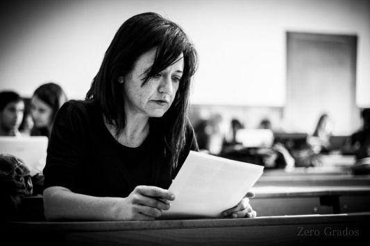 Maite gobantes, subdirectora de la revista Zero Grados. /Foto: Jacobo Yáshyn