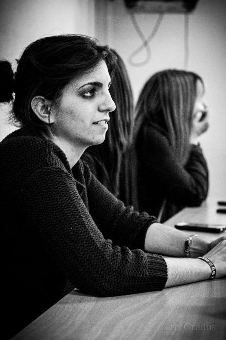 María Irún, jefa de edición. /Foto: Jacobo Yáshyn