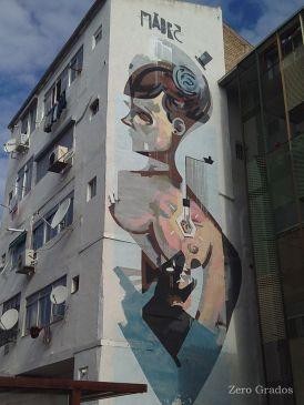 Xavier XTRM. Patio interior de la Calle Las Armas