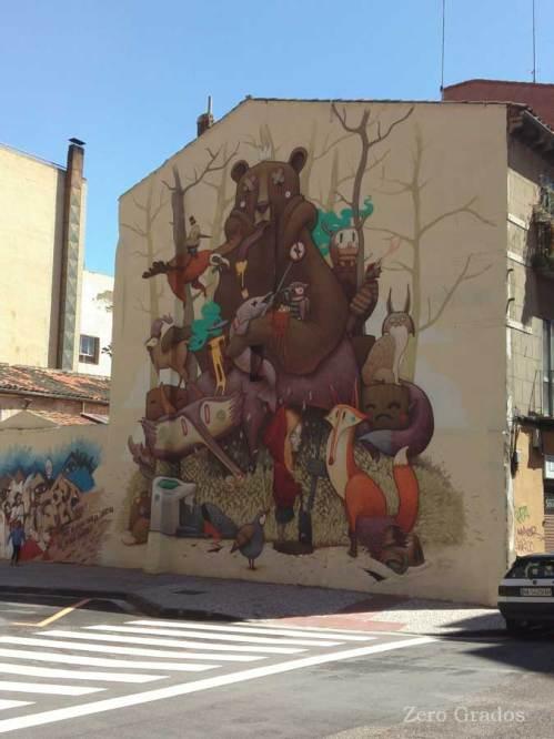 Dulk. Calle Privilegio de la Unión., Barrio San José
