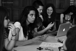 Parte del equipo de Zero Grados / Foto: Sandra Lario