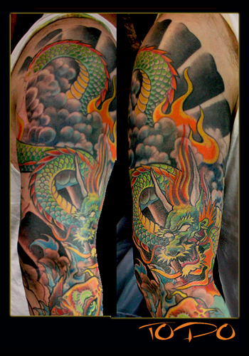 traditional japanese tattoo sleeves aztec tattoo ideas