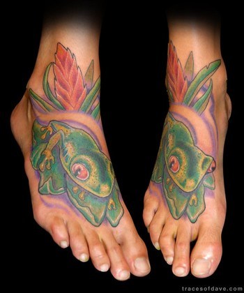 Tattoos · Page 1. African Tree Frog. Now viewing image 39 of 44 previous