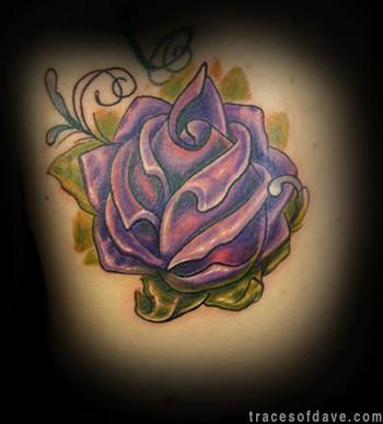 Tattoos. Tattoos Realistic. In Progress Roses