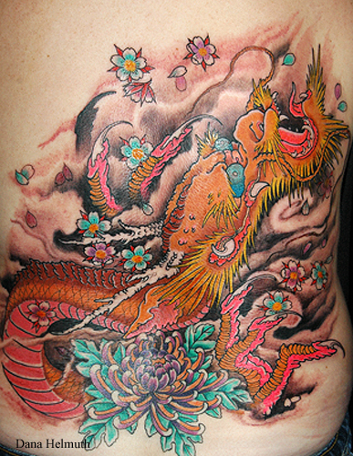 Full Back Piece Japanese Tattoos Picture 7