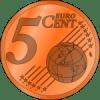 5-eurocent-munt