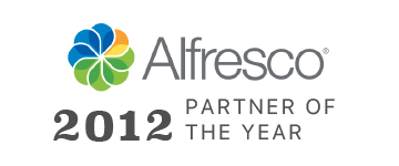 Alfresco Partner of the Year 2012