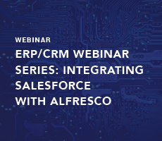 ERP/CRM Webinar Series: Integrating Salesforce with Alfresco