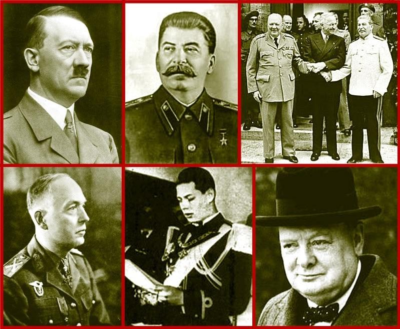 Hitler Stalin Roosevelt Churchill Antonescu Mihai - Prof Buzatu - Ziaristi Online