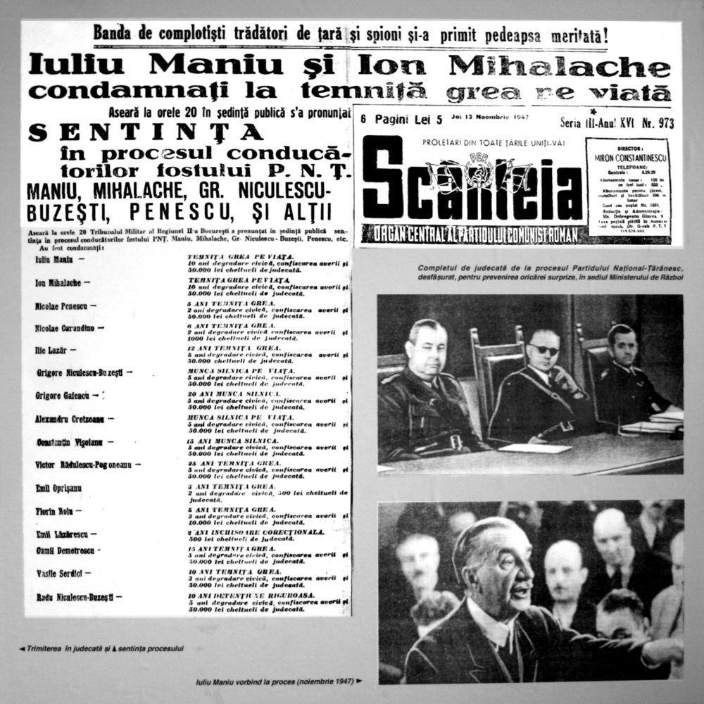 Iuliu Maniu - Ion Mihalache - Scanteia - Antonescu - Prof Buzatu - Ziaristi Online