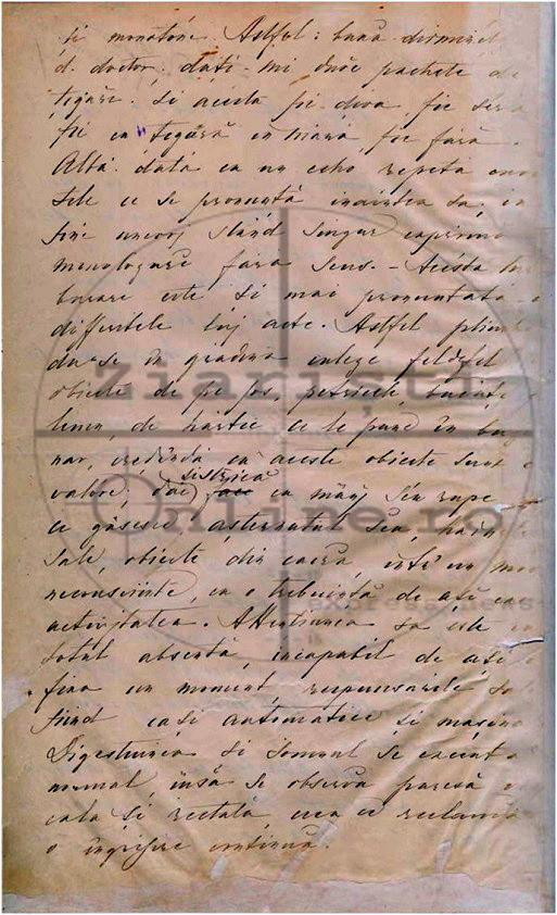 Raport Medico Legal Eminescu - Dosar de Interdictie - Document Const Barbu - Ziaristi Online 2