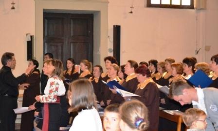 Coriști romașcani, în concert la Padova
