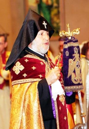 Patriarhul tuturor armenilor este așteptat la Roman