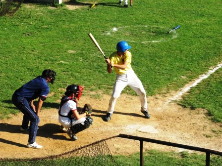Baseball-ul și oina sunt împletite la Gherăești
