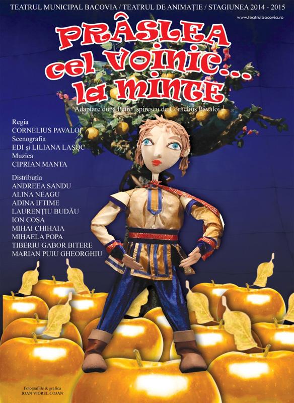 Teatru pentru copii, la Casa de Cultură din Roman