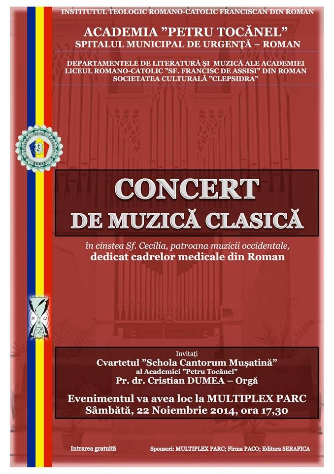 Concert de muzică clasică pentru cadrele medicale
