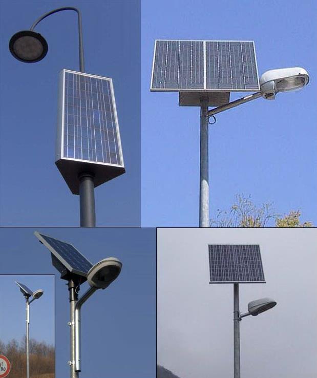 Iluminat public cu celule fotovoltaice în Bucium şi Muncel