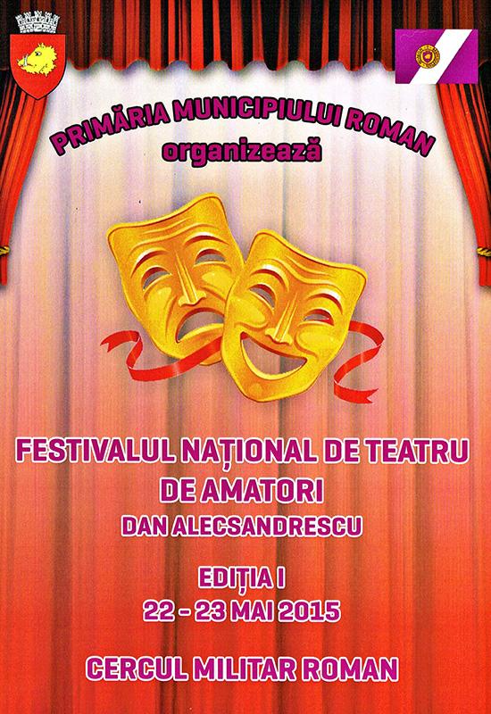 Start la prima ediție a Festivalului de teatru de la Roman