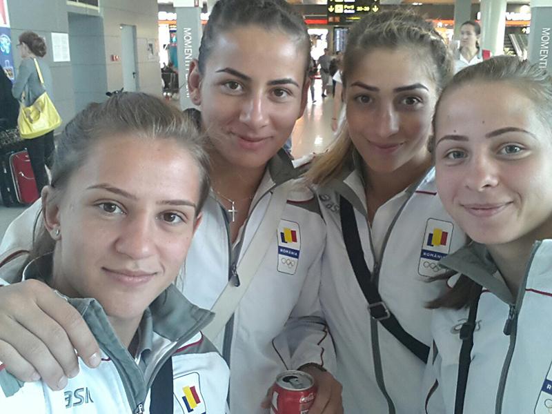 Anca, a cincea în Europa şi a şaptea în lume, este  în lotul României pentru Jocurile Olimpice Europene de la Baku