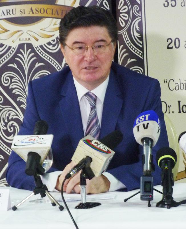 Avocatul Ioan Chelaru, la 35 de ani de activitate profesională