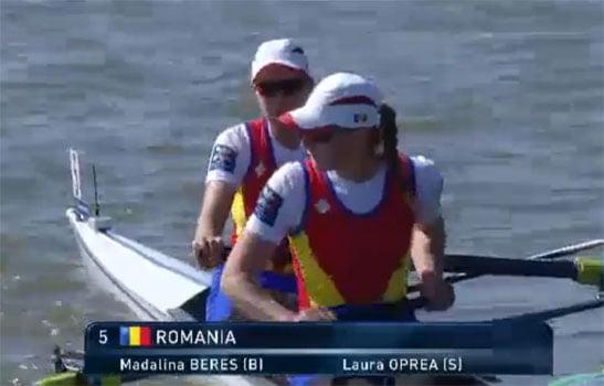 Laura Oprea, canotoarea din Nisiporeşti, oficial în lotul României pentru Olimpiada de la Rio din august