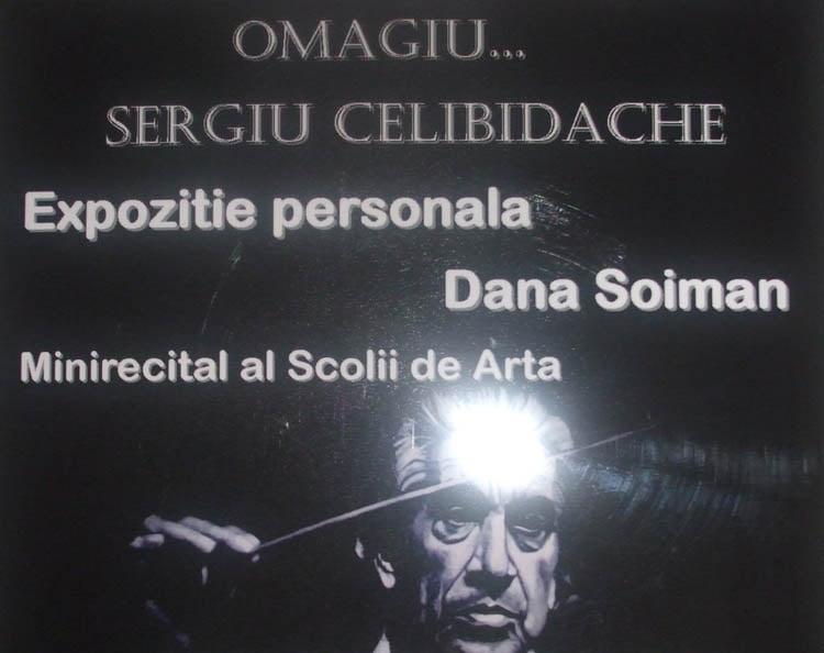 Omul şi dirijorul Sergiu Celibidache, într-o expoziţie inedită la Muzeul de Artă