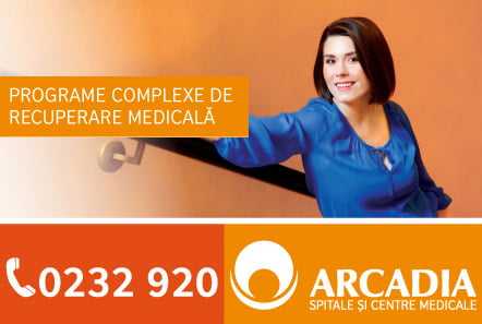 Programe complexe de recuperare medicală la Arcadia
