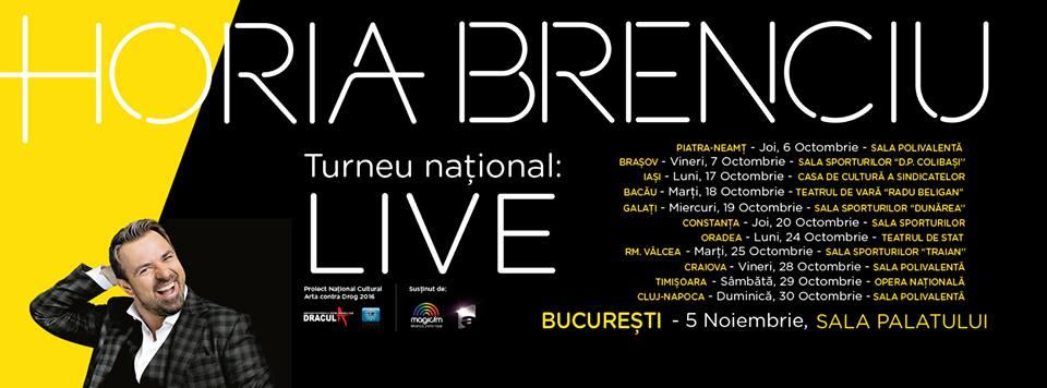 Horia Brenciu cântă la Piatra Neamţ