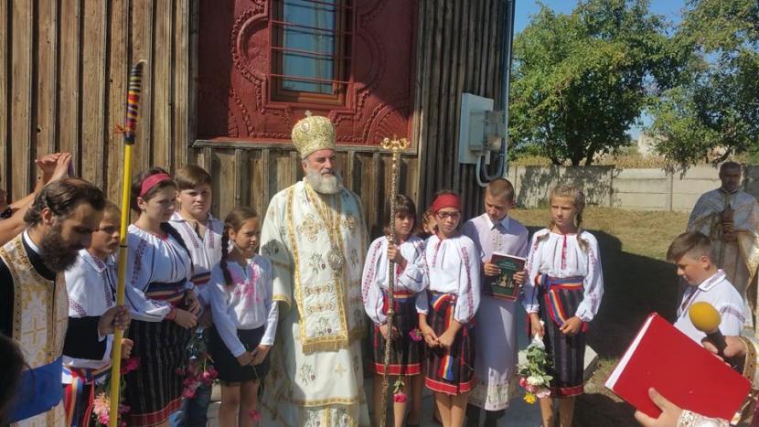 """Lucrările de restaurare a bisericii """"Adormirea Maicii Domnului"""" din Parohia Cuci au fost finalizate"""