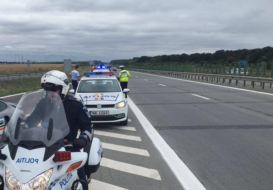 Șofer din Neamţ, depistat cu 200 km/h