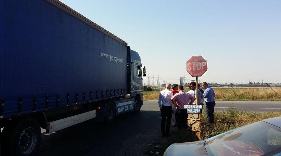 Lidl promite să reamenajeze intersecția E85 cu drumul spre Tămășeni