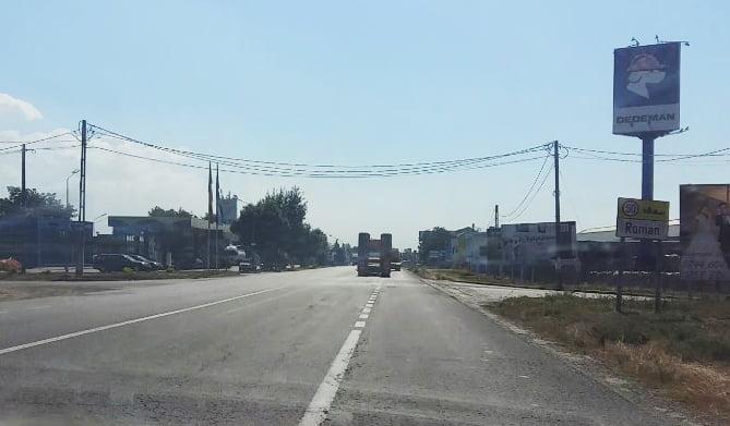 Trafic închis pe E85, pentru lucrările la sensul giratoriu