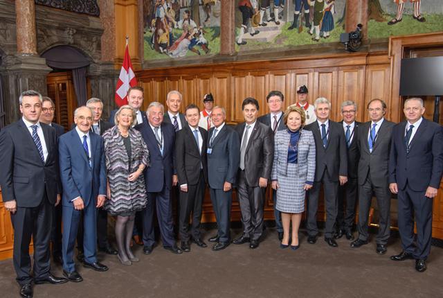 Senatorul Ioan Chelaru, la reuniunea Asociaţiei Senatelor din Europa de la Berna