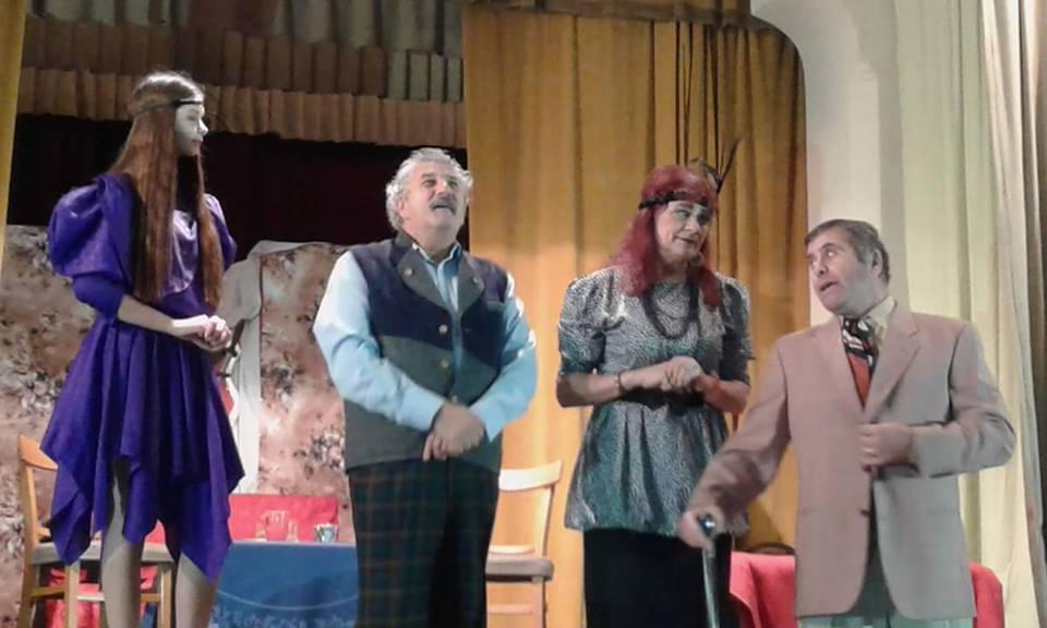 """Actorii Teatrului """"Dan Alecsandrescu"""" au sărbătorit Ziua Teatrului Romașcan"""