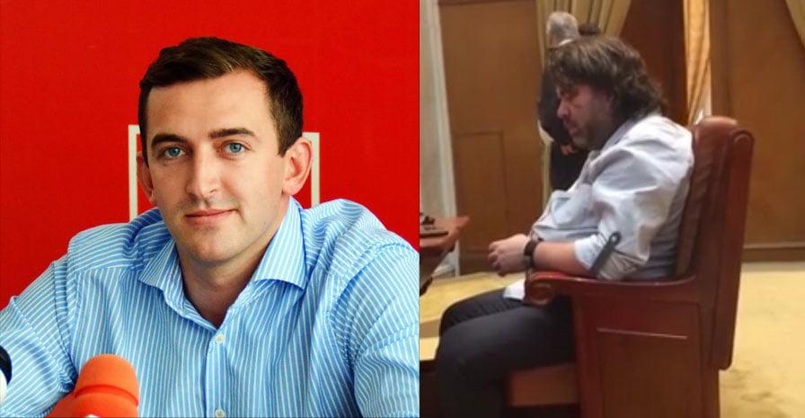 [VIDEO] Deputatul Alexandru Rotaru a surprins somnul unui coleg parlamentar