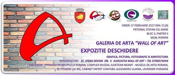 """Se deschide """"Galeria Wall of Art"""""""